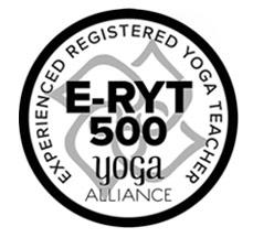 E-RYT 500 - Yoga Alliance Registered