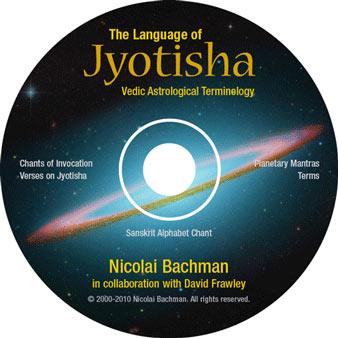 Language of Jyotisha CD